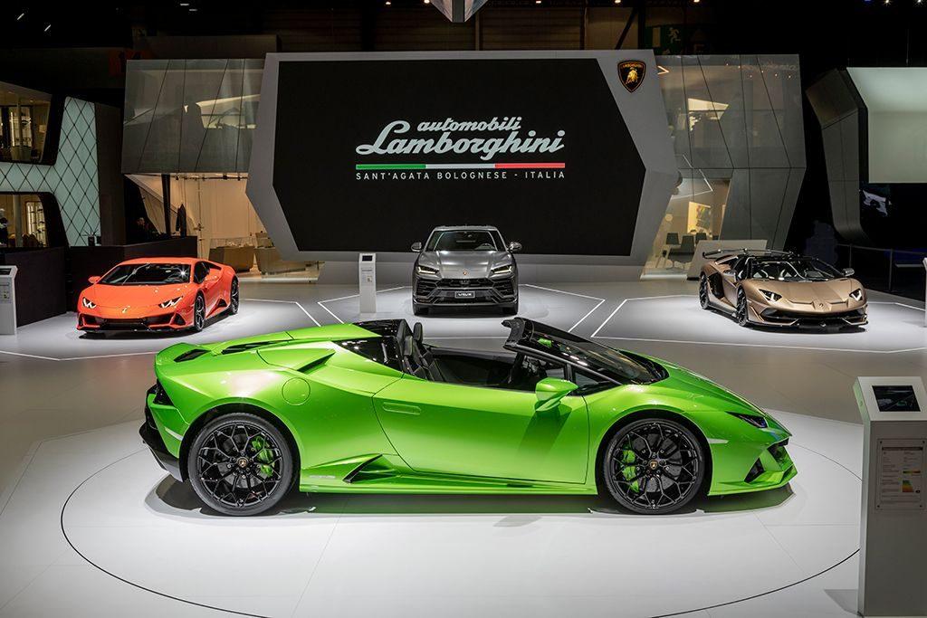 Lamborghini Line Up