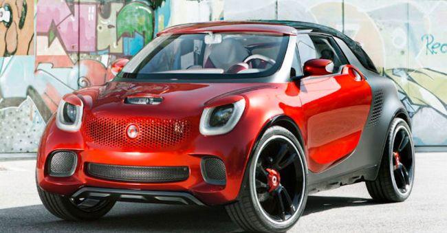 Mobil Mungil Smart Versi SUV Bertenaga Listrik Dikembangkan Bersama Produsen Mobil Asal Cina