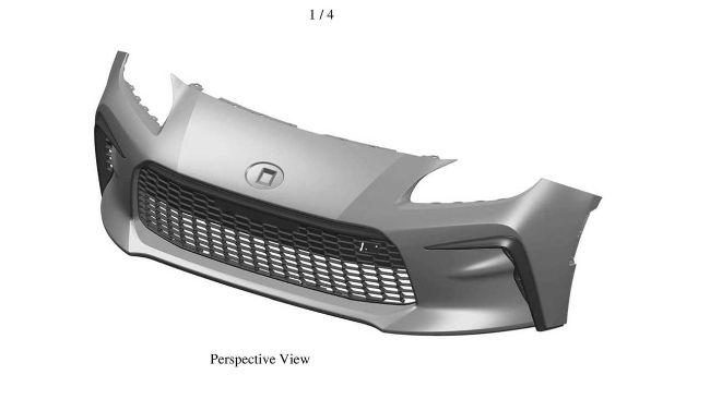 Desain Baru Bumper Toyota 86 Dipatenkan di Australia