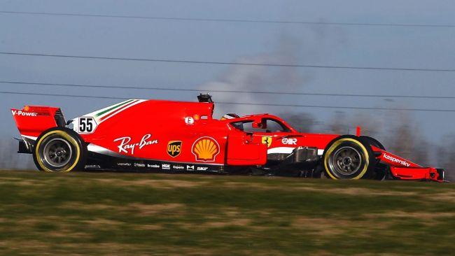 Carlos Sainz, Ferrari SF71H