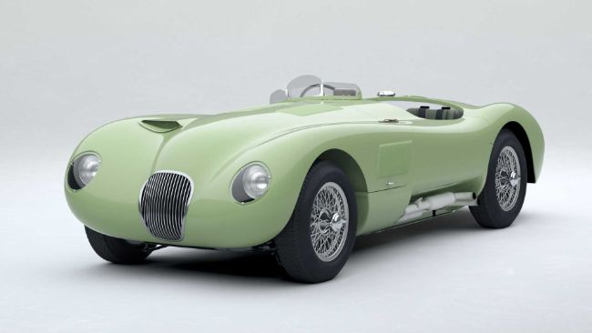 jaguar-classic-c-type-pastel-green
