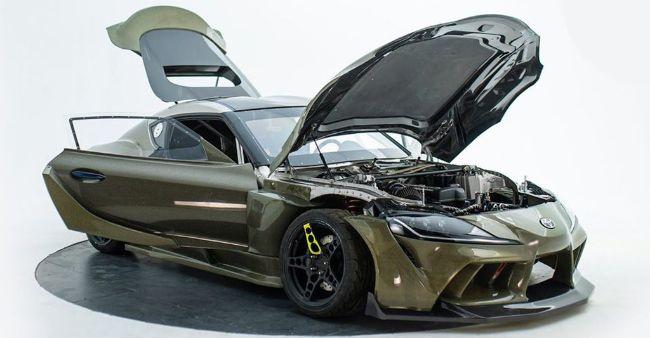 HGK Toyota GR Supra