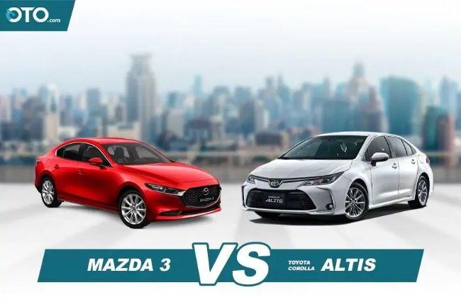 Suka Toyota Corolla Altis Atau Mazda3? Ini Yang Perlu Diketahui Dari Kedua Model