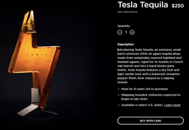 Tesla Tequile