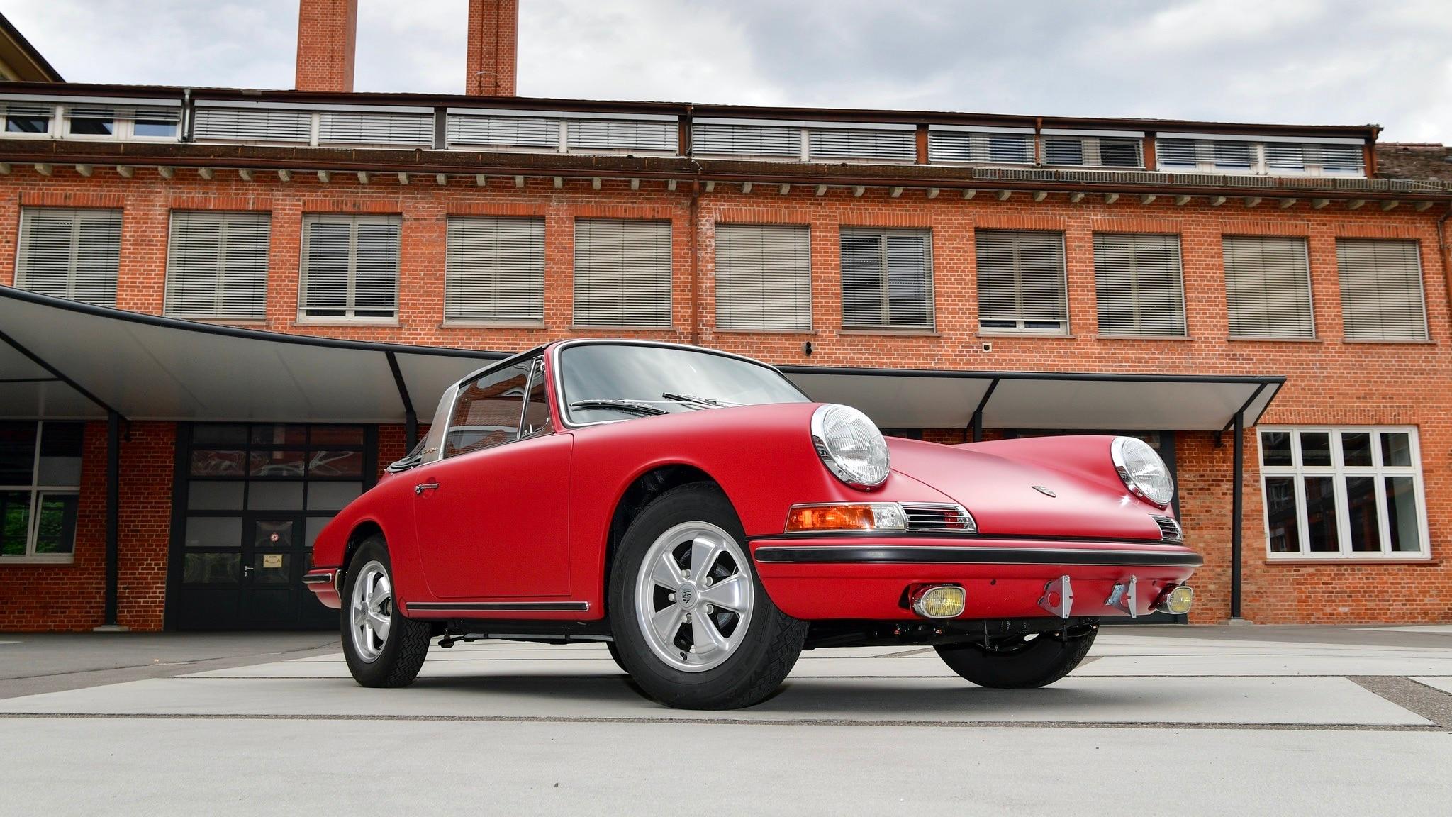 Butuh Waktu Lebih 3 Tahun Merestorasi Porsche Targa Klasik Ini