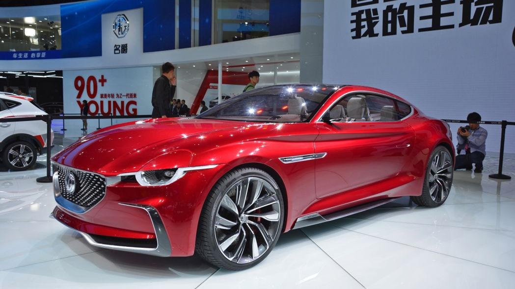 MG Motor Siapkan Mobil Sport Elektrik 2-Pintu Dan City Car Listrik