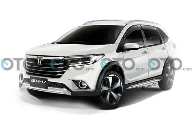 Lagi Ditunggu-tunggu, Begini 'Tampilan' Honda BR-V Terbaru Nanti