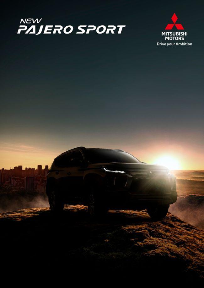 Teaser New Pajero Sport