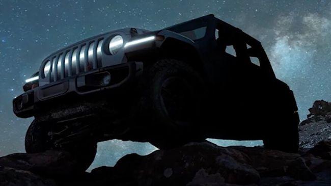 Jeep Wrangler BEV Sudah Bisa Diintip