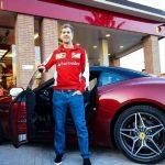 Ferrari California T Vettel