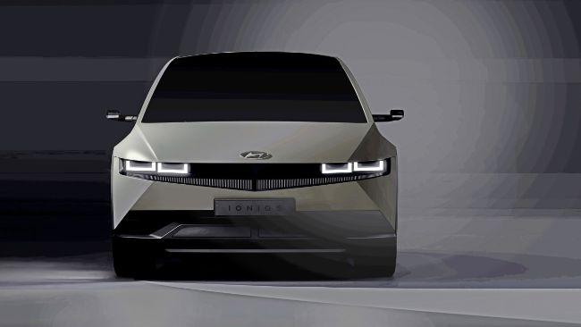 Hyundai Sengaja Tunjukkan Interior Ioniq 5 Sebelum Launching