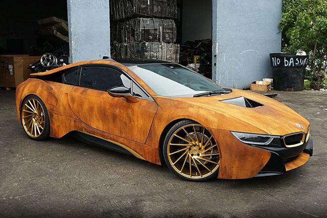 BMW i8 Austin Malone