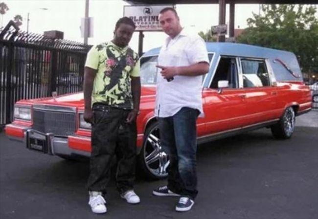 Cadillac Hearse T-Pain