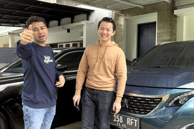 Rawat 5008 Miliknya, Raffi Ahmad Gunakan Layanan Home Service Astra Peugeot