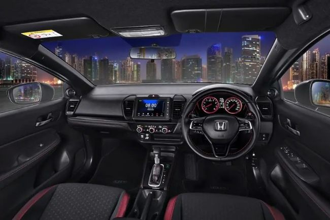 interior Honda City Hatchback 2021