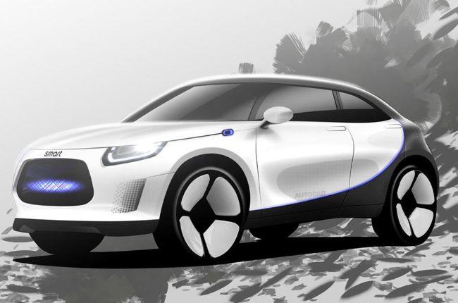 Smart akan Rilis SUV Listrik Hasil Garapan Mercedes-Benz & Geely