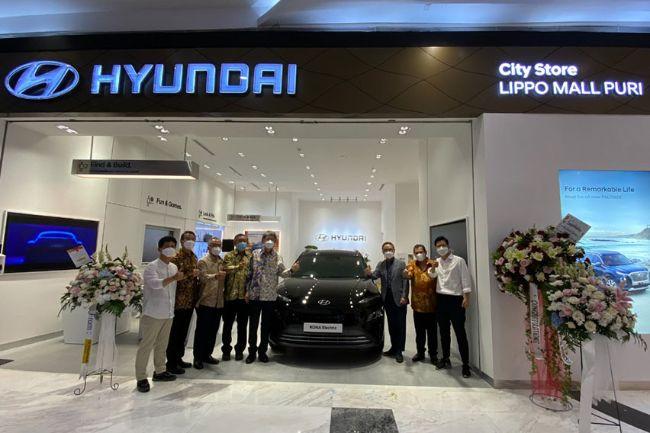 Dekatkan Diri dengan Konsumen, Hyundai City Store Hadir di Mall