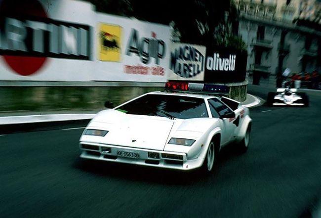 Safety Car Lamborghini Countach
