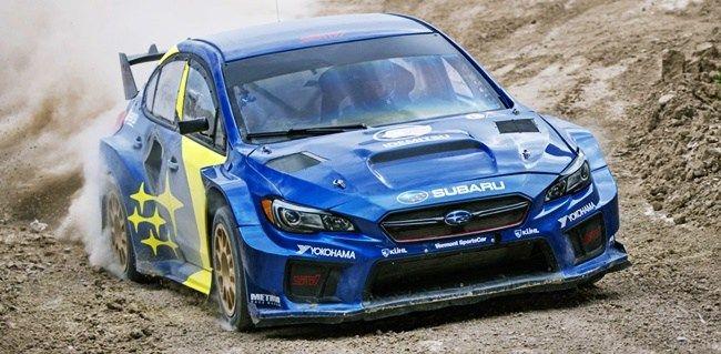 Subaru WRX Hybrid di reli