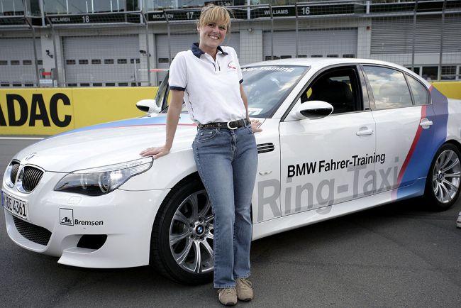 Sabine Schmitz BMW M5