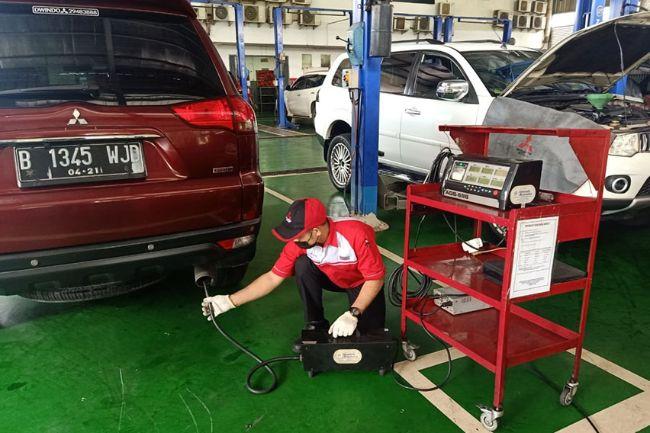 Mitsubishi Sediakan 23 Bengkel untuk Layanan Uji Emisi di Jakarta