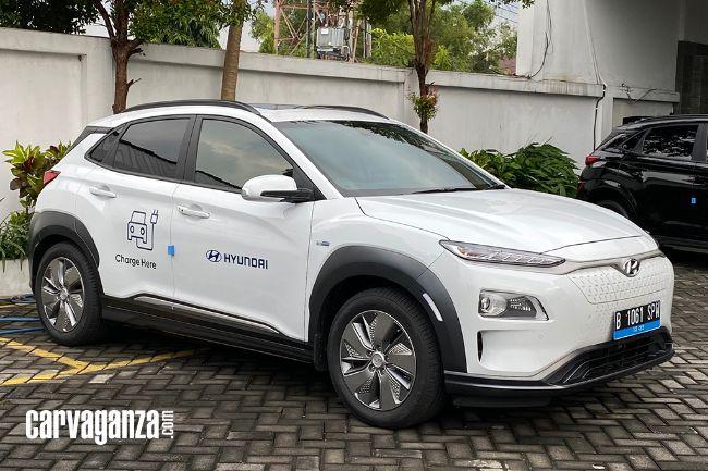 Manfaatkan Kona Electric, Hyundai Sediakan Layanan Mobile Charging 24 Jam