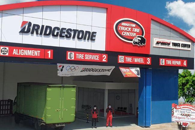 Bridgestone Resmikan Truck Tire Center Pertama di Wilayah Semarang