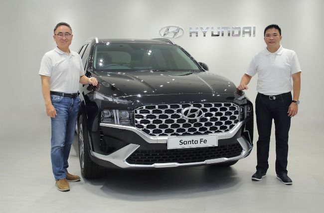 Hyundai Santa Fe Teranyar Meluncur, Usung Mesin Baru