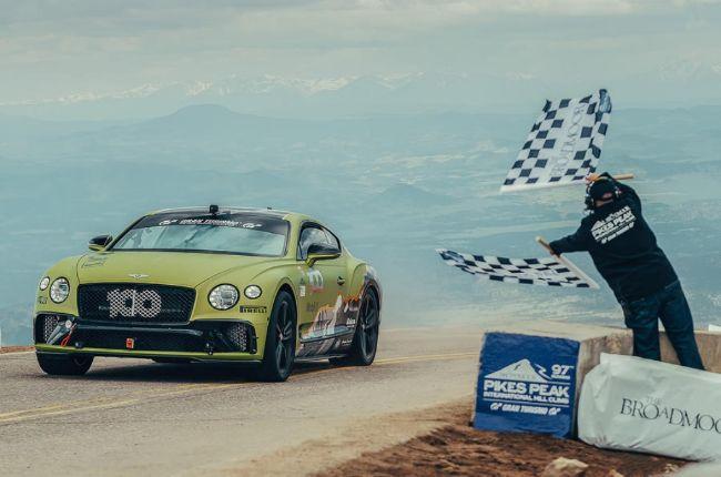 Bentley Continental GT Pikes Peak