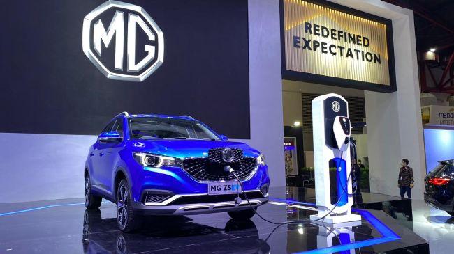 MG ZS EV, Satu Lagi Mobil Listrik yang Meluncur di IIMS Hybrid 2021
