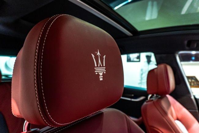 Maserati Levate Ermenegildo Zegna