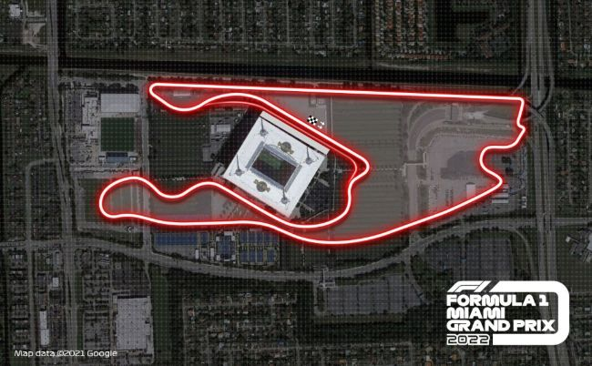 F1 Miami Circuit