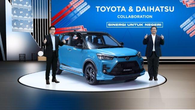 Toyota Raize Daihatsu Rocky