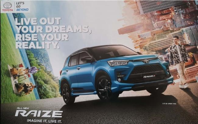 Bocor! Ini Spesifikasi Toyota Raize Menurut Brosur