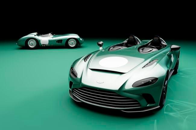 Aston Martin V12 Speedster DBR1 Specification