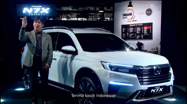 Honda 'Kode' Rilis N7X Versi Produksi di GIIAS 2021