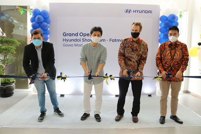 Resmikan Dealer 3S di Fatmawati, Hyundai Bidik 100 Outlet Tahun Ini