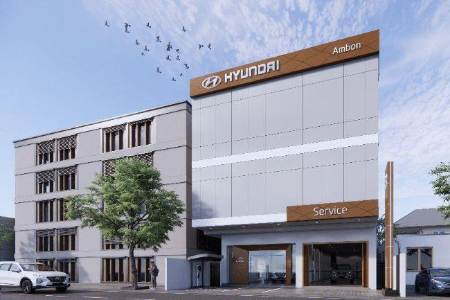 Hyundai Buka Dua Dealer Baru di Maluku dan Jawa Barat