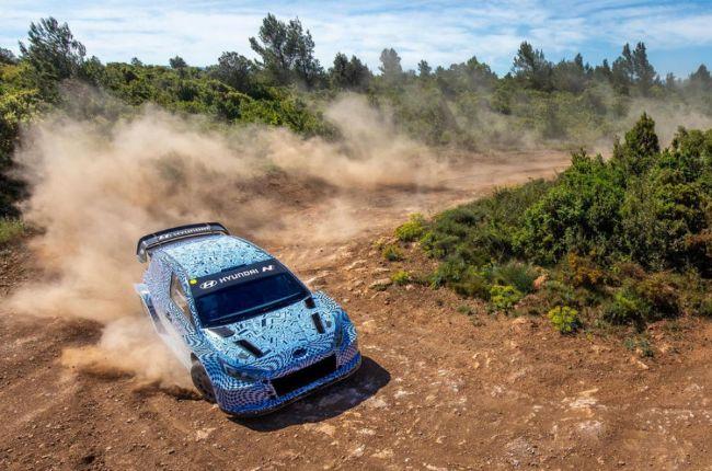 Hyundai i20 N WRC Hybrid