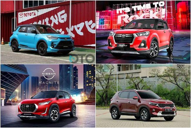 Ramai Segmen SUV Kecil Banyak Fitur; Pilih Sonet, Magnite, Raize atau Rocky