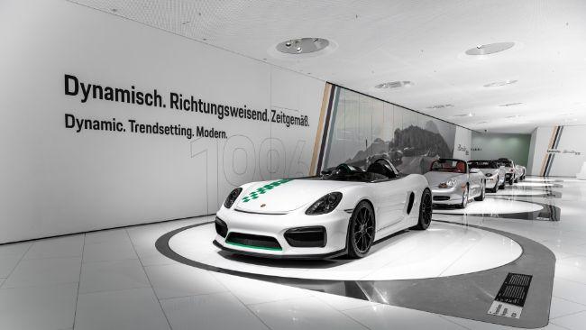 Porsche Buka Tur Museum Virtual, Rayakan 25 Tahun Boxster