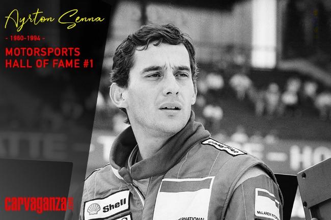 Motorsports Hall of Fame #1: Ayrton Senna, Racing Is In My Blood!