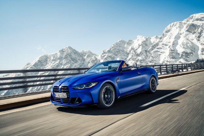 Generasi Baru BMW M4 Convertible Tampil Lebih Ganas, Punya Penggerak AWD
