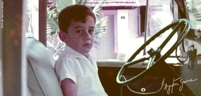 Ayrton Senna Young