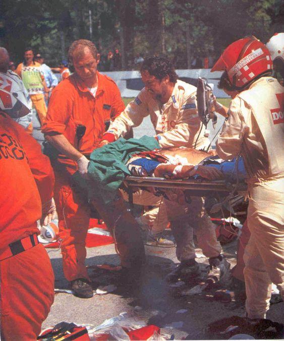 Ayrton Senna Accident