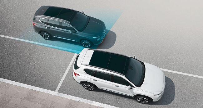 Fitur Safe Exit Assist (SEA) di Hyundai New Santa Fe