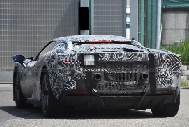 Spyshot-Ferrari-V6-Hybrid-F171-1