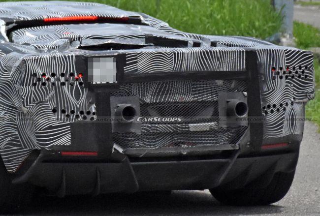 Spyshot-Ferrari-V6-Hybrid-F171-3