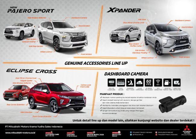 Mitsubishi Accesories Campaign