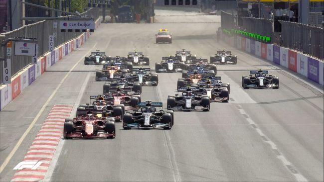F1 GP Azerbaijan